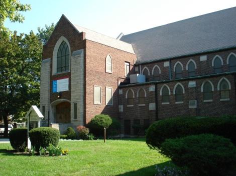 facade of Christ Church